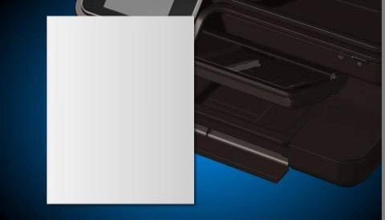 HP Photosmart 7520 Printers - First Time Printer Setup | HP