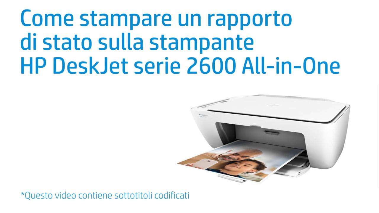 Fine Come Stampare Un Rapporto Di Stato Sulla Stampante Hp Deskjet Serie 2600 All In One Interior Design Ideas Gresisoteloinfo