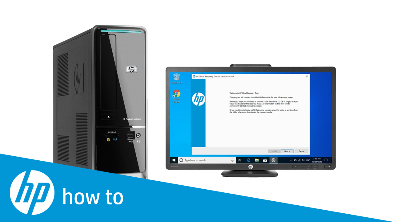 How to Recover Your Computer Using the HP Cloud Recovery Tool