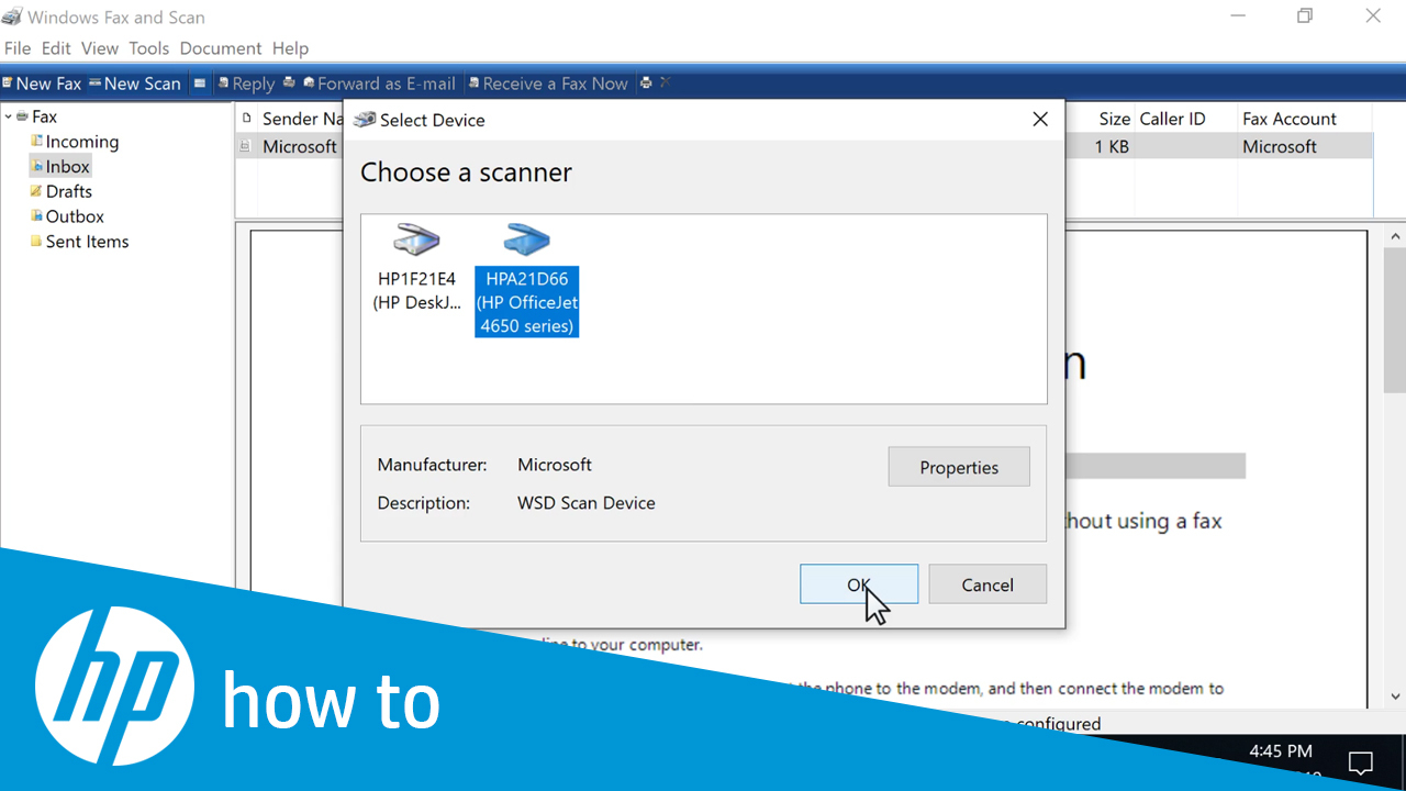 How to Scan from an HP Printer in Windows 10
