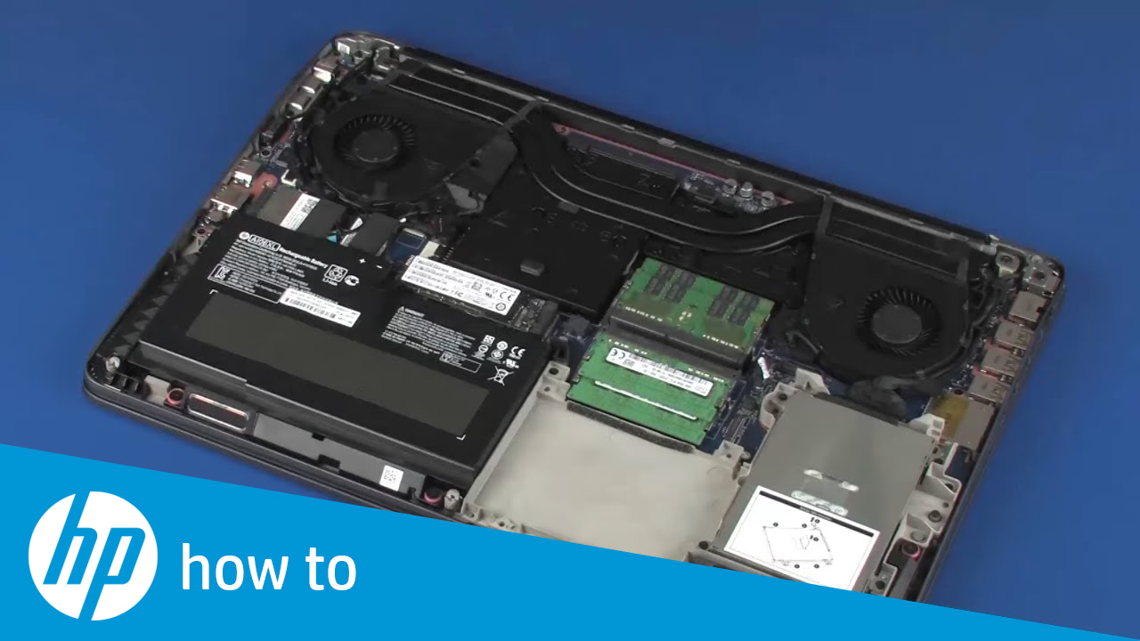 Removing and Replacing the Real Time Clock (RTC) Battery on the HP ZBook 17  G3 Mobile Workstation
