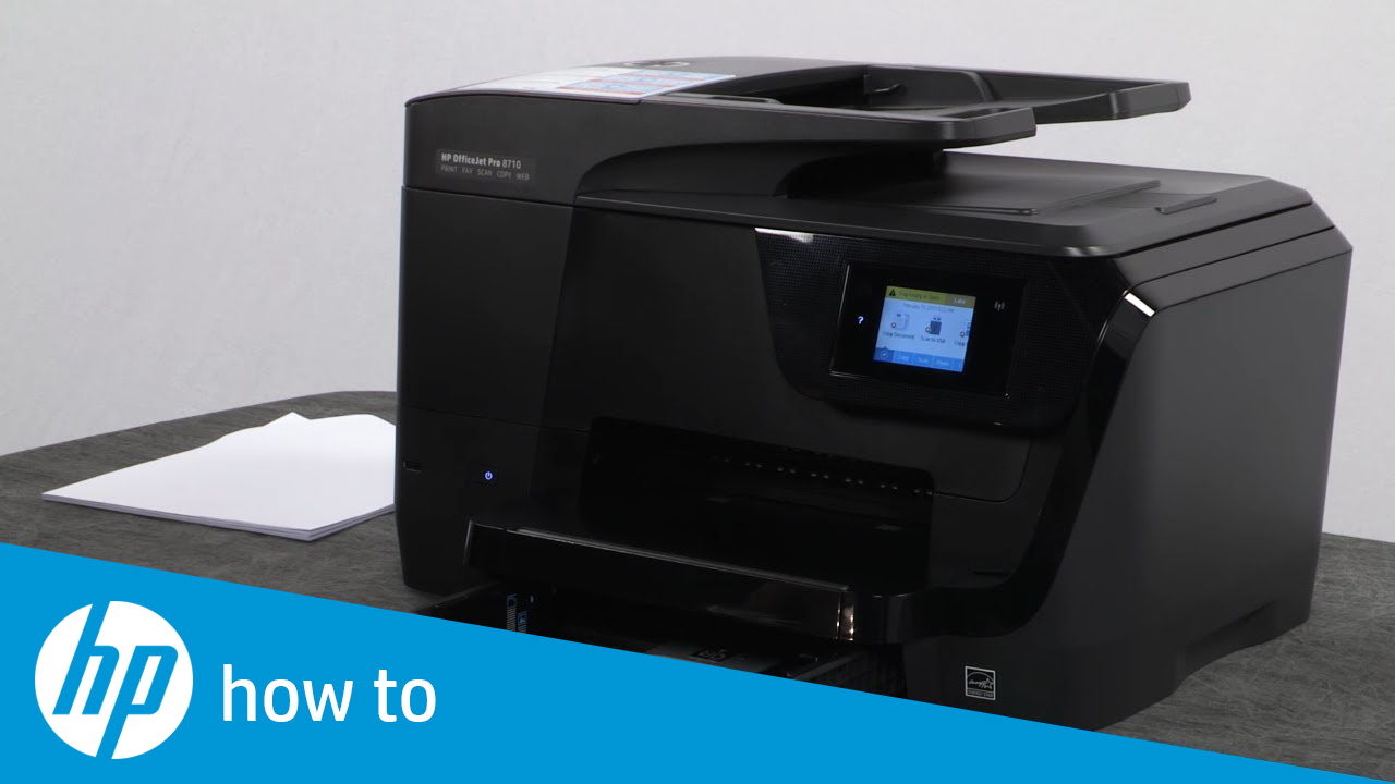 Fixing Your HP OfficeJet Pro 8710 Printer When It Does Not Pick Up Paper