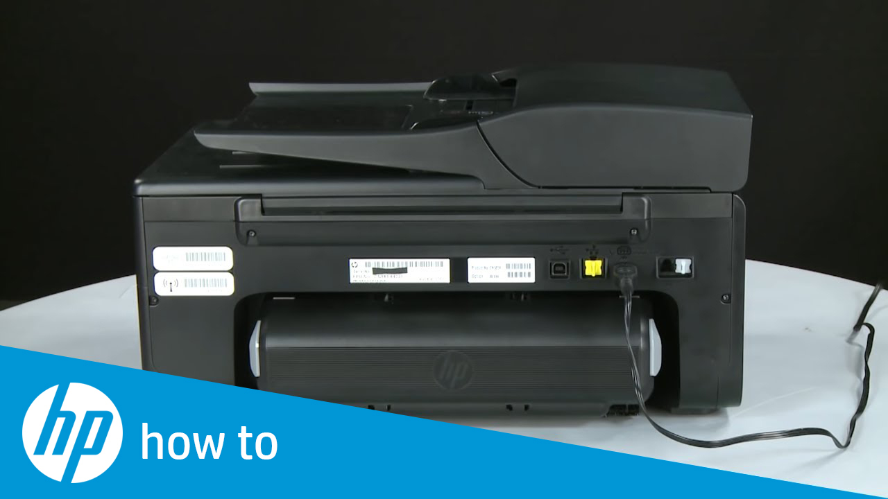Fixing a Paper Jam - HP Officejet 6700 Premium e-All-in-One Printer (H711n)