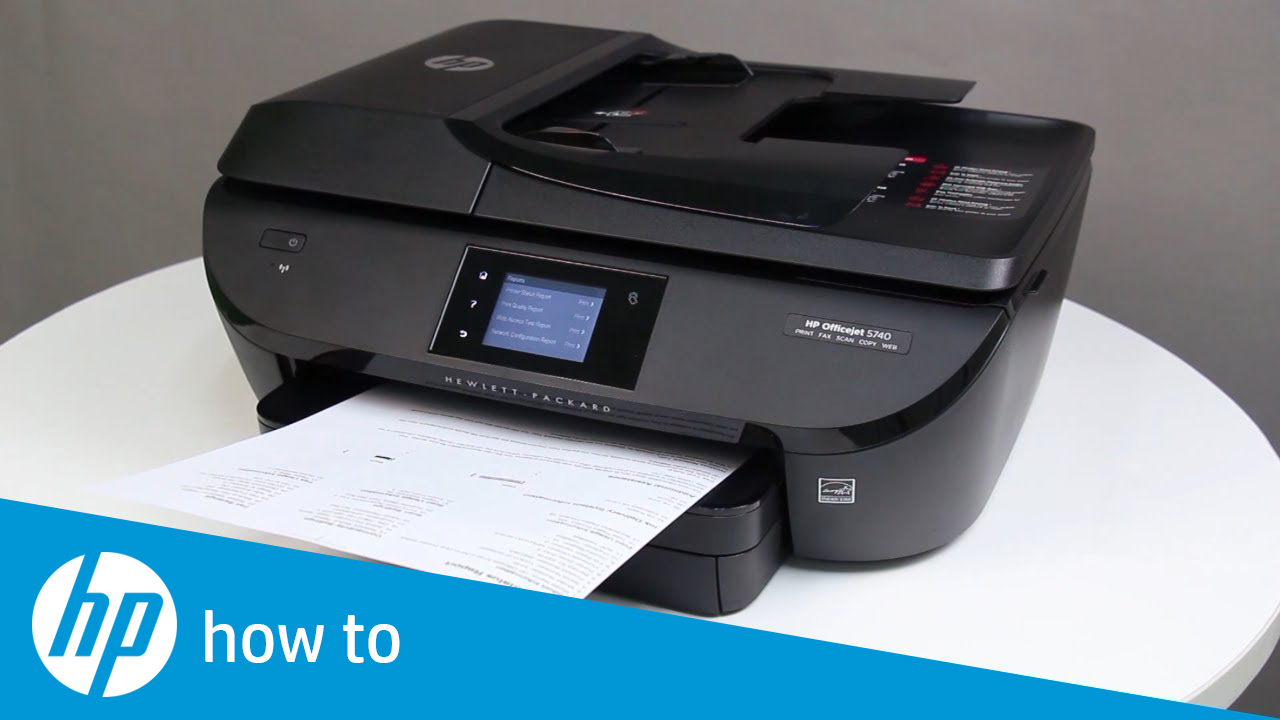 Clearing a Paper Jam Error on HP ENVY 7640, Officejet 5740, and Officejet  8040 e-All-in-One Printer Series