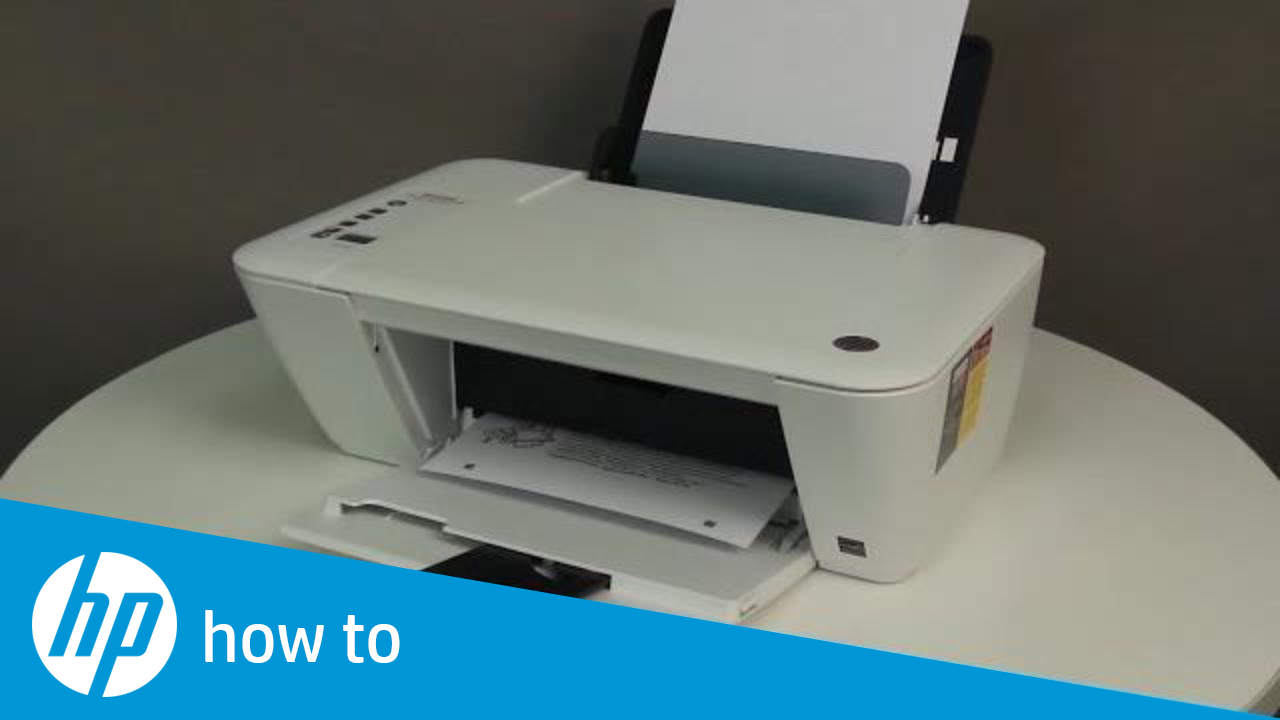 Fixing a Paper Jam for the HP Deskjet 1510, 2540, Deskjet Ink Advantage  1510, and 2540 All-in-One Printer Series