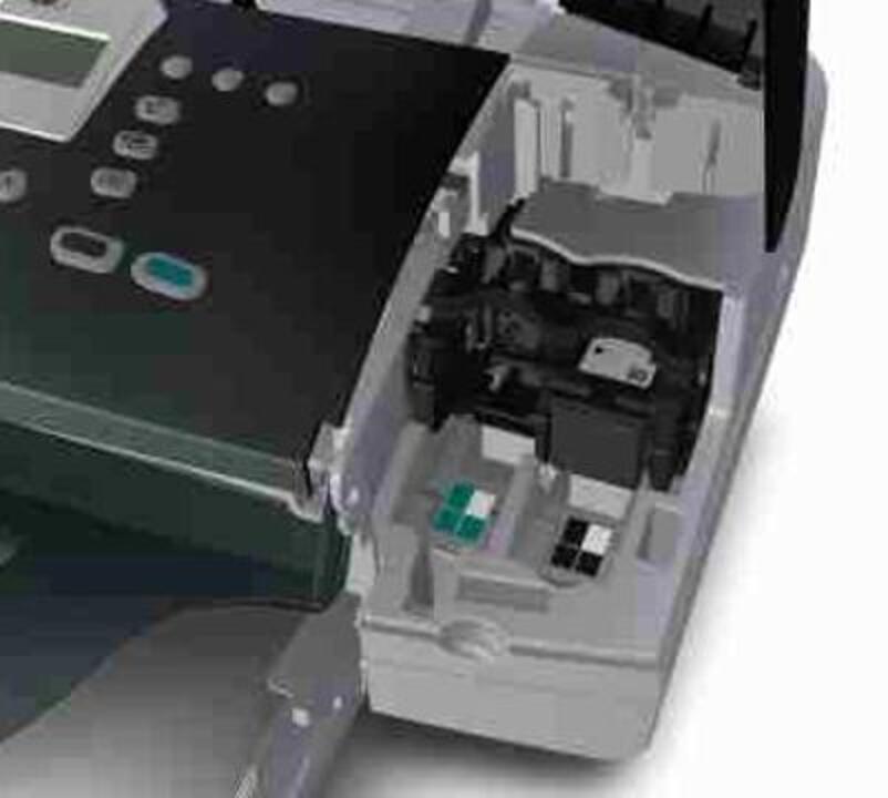 HP Officejet J3600 All-in-One Printer Series - A \u0027Cartridge error