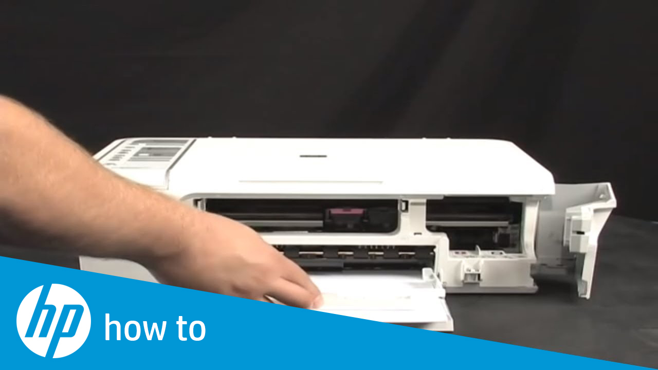 Fixing a Carriage Jam - HP Deskjet F4200 All-in-One Printer