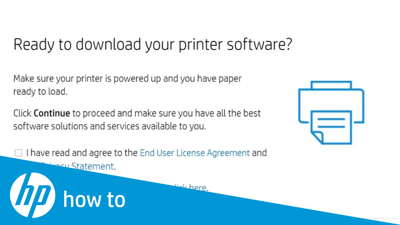 Installing an HP Printer in Windows Using a USB Cable