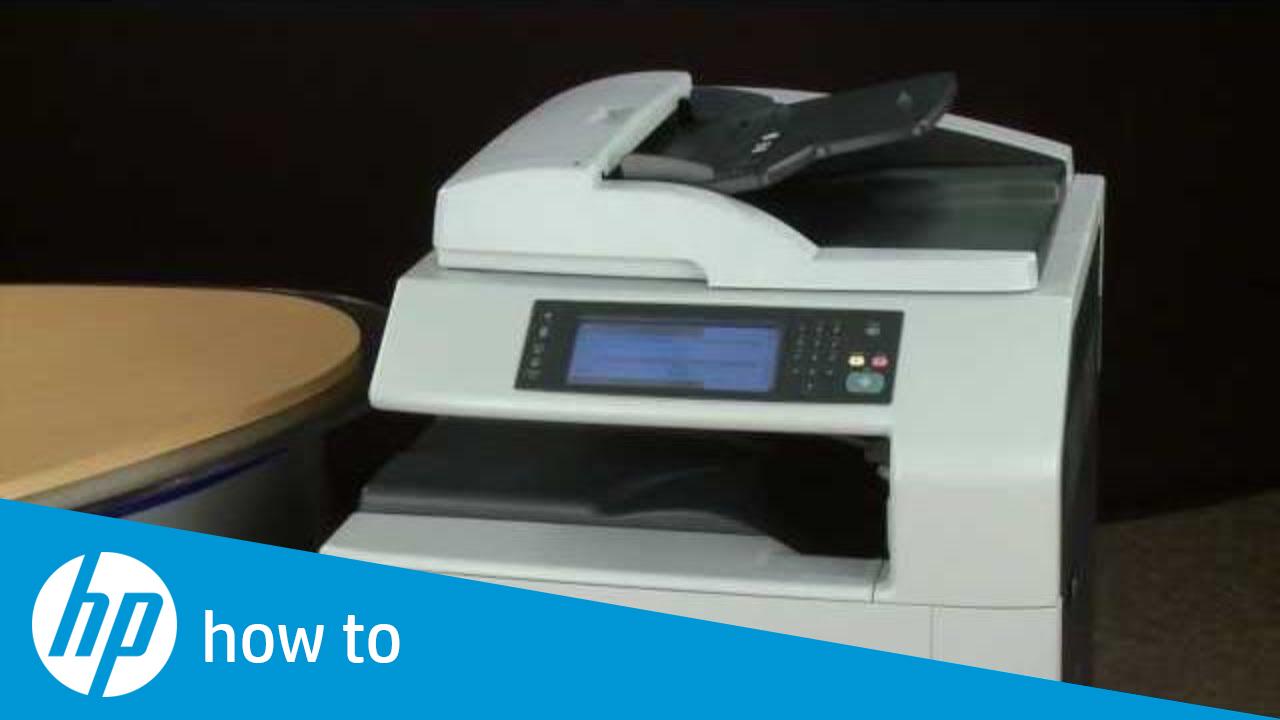 Solution to Missing Color When Printing - HP Color Laserjet CM6040/CM6030
