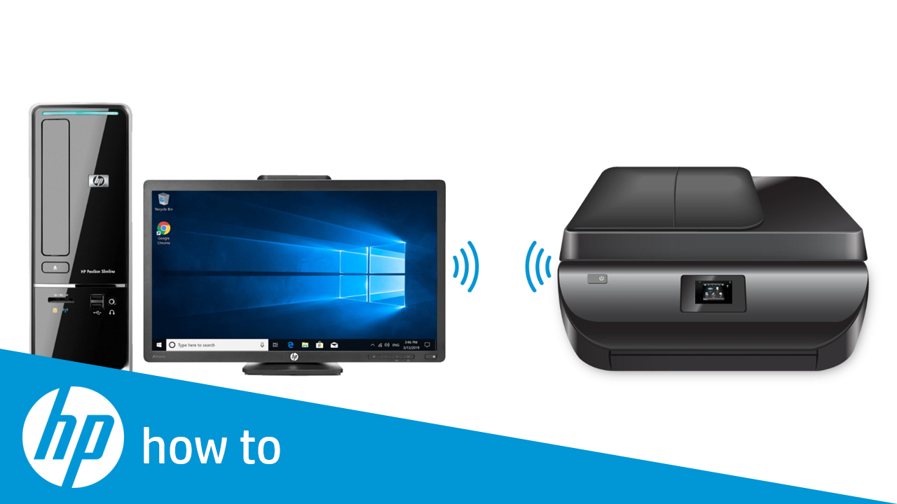 How to Print from Windows 10 Using Wi-Fi Direct