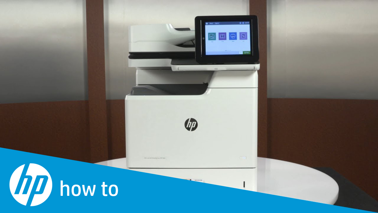 How To Copy Id Cards To A Single Sided Printout On Futuresmart 4 Hp Enterprise Mfps