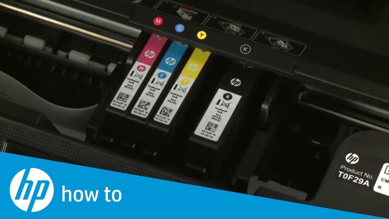 249c422fc HP OfficeJet Pro 6900 Printers - Replacing Ink Cartridges | HP ...