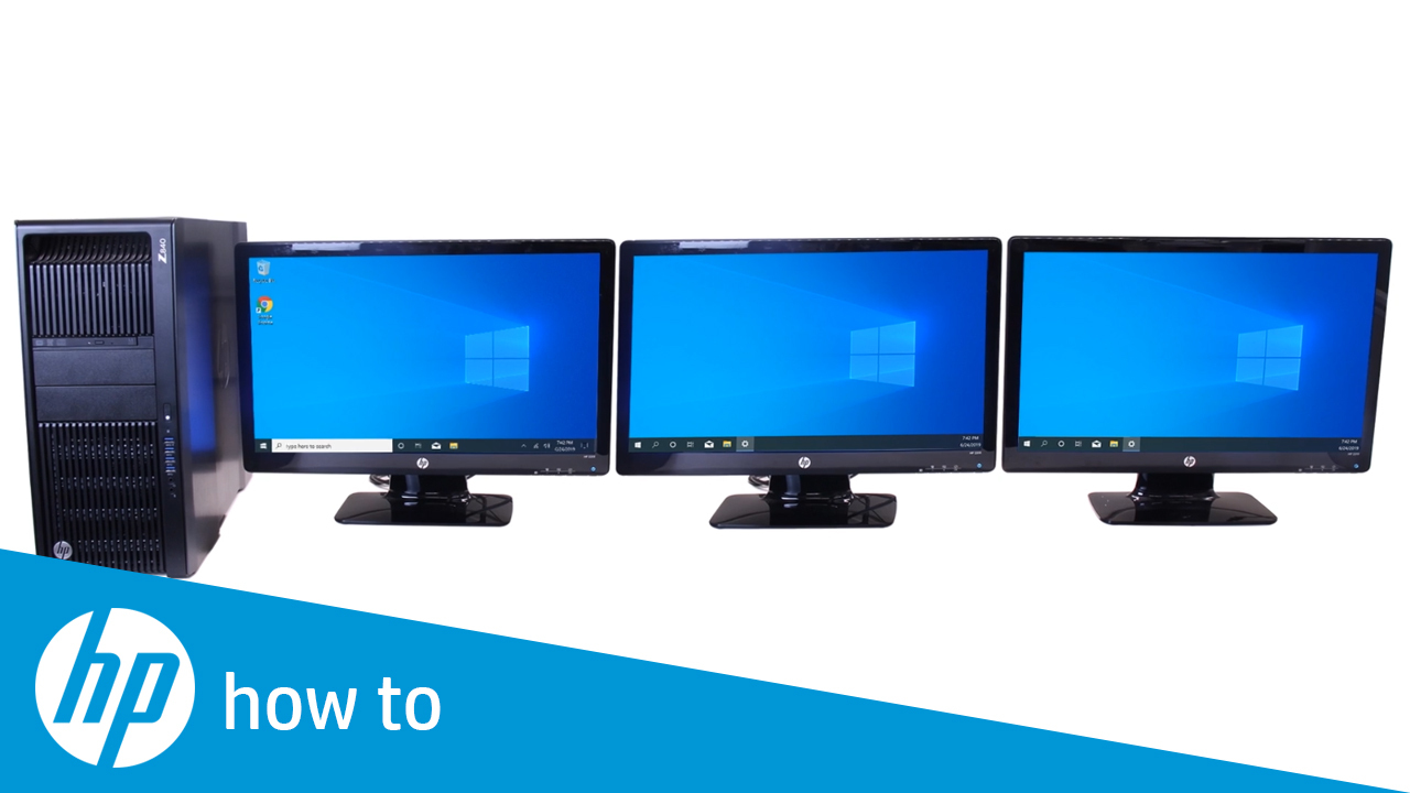 How To Set Up Multiple Monitors In Windows 10