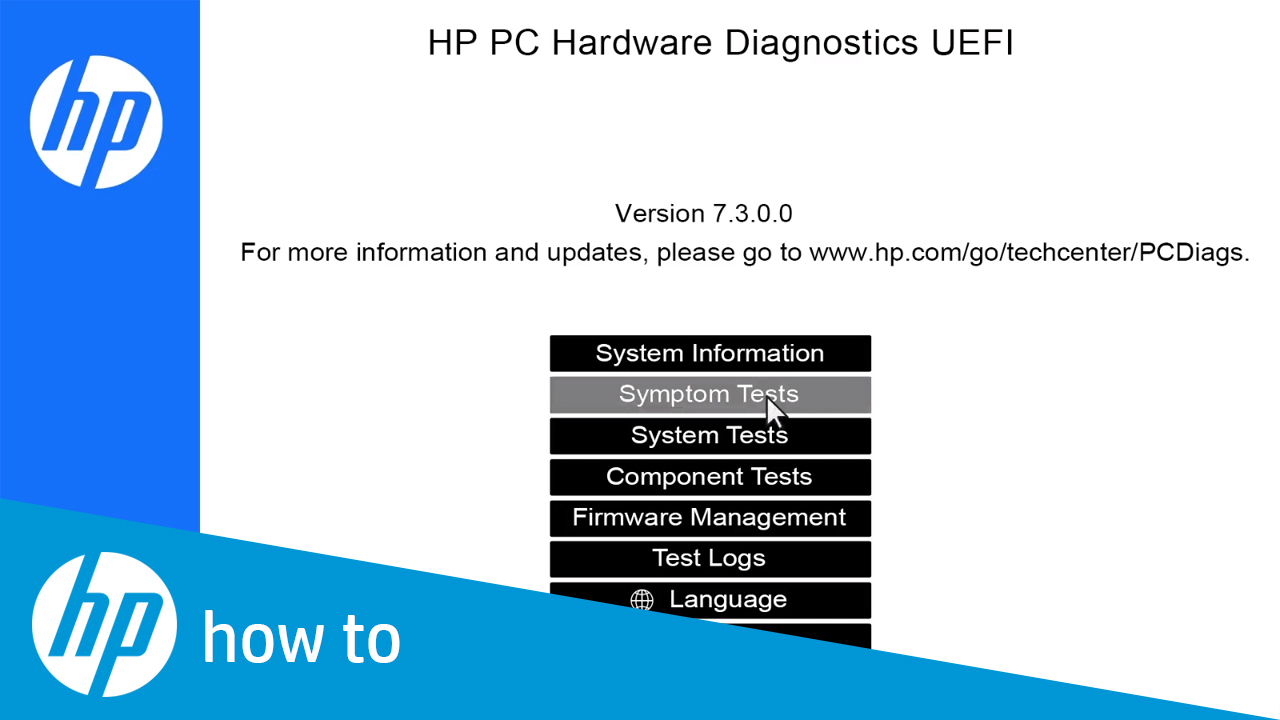 How to Test Your HP Computer Hardware Using HP PC Hardware Diagnostics UEFI