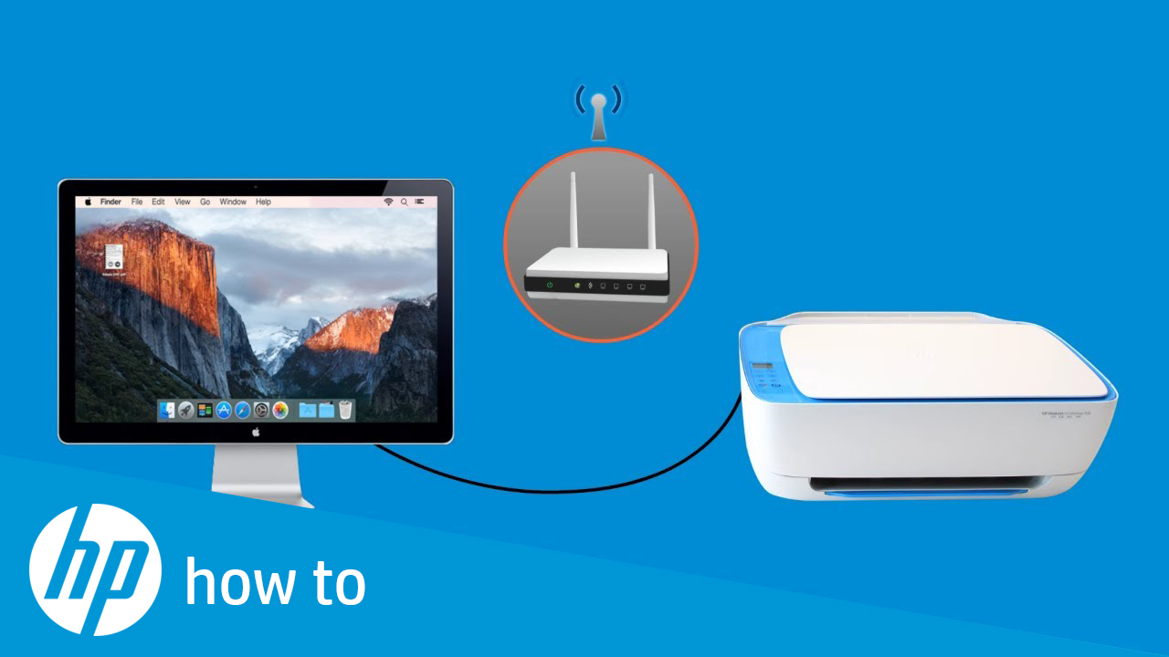Converting an HP Printer from a USB to a Wireless Connection in macOS or OS  X