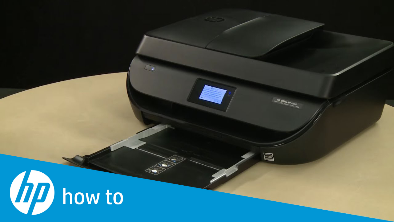 Fixing a Paper Jam on the HP OfficeJet 4650 Printer