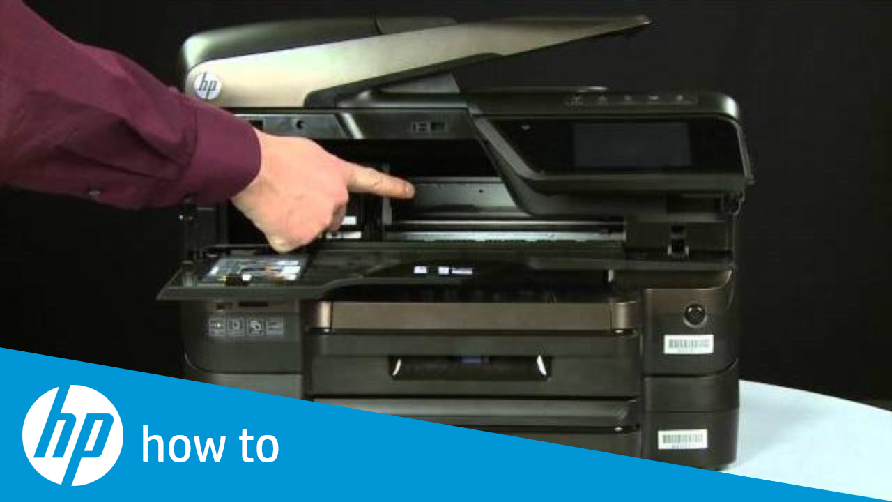 Fixing a Carriage Jam - HP Officejet Pro 8600 e-All-in-One Printer