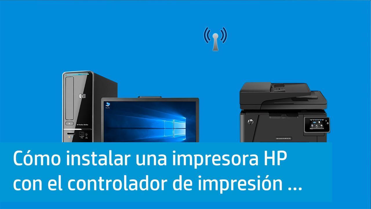 Descargas de software y controladores HP para impresoras, PC ...