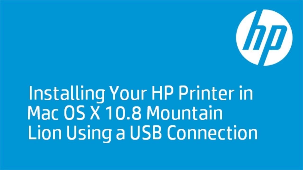 hp setup assistant mac download mountain lion