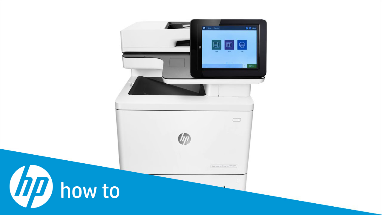Making a Copy and Adjusting Copy Settings on HP Enterprise MFPs -  FutureSmart 4