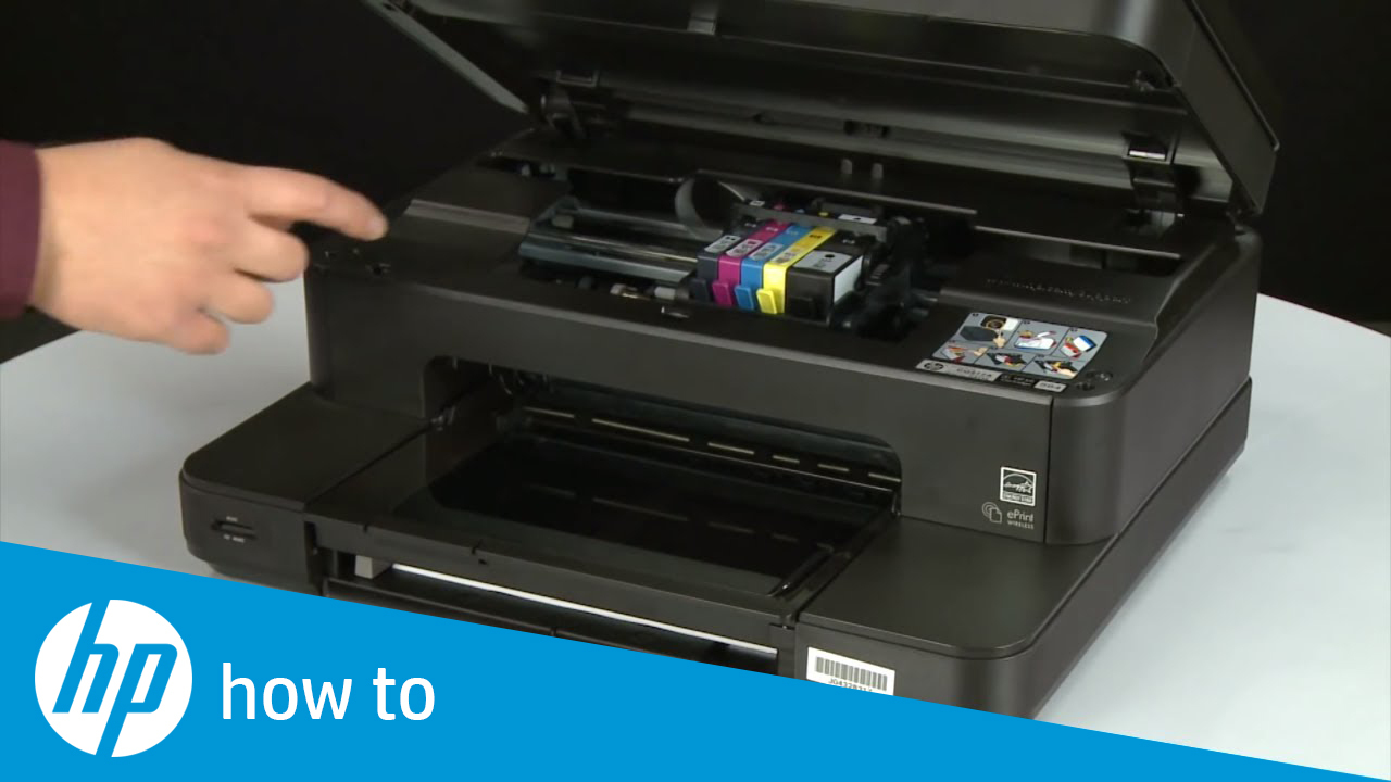 Replacing a Cartridge - HP Photosmart 7510 e-All-in-One Printer (C311a)