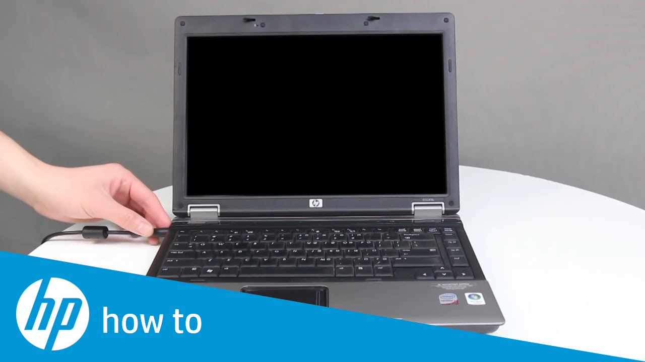 How To Fix an HP Laptop with a Black Screen