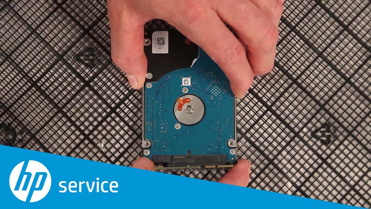 Customer Self Repair Hard-Disk Drive (HDD) HP Color LaserJet Enterprise MFP  M577