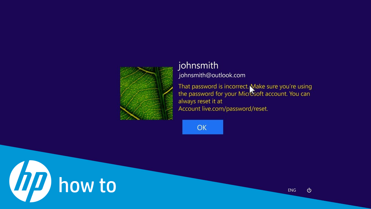 Resetting Your Microsoft Windows 8 Password