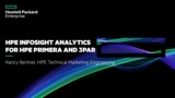 New analytics for HPE InfoSight for HPE Primera & 3PAR: Latency Factors & Capacity Forecasting