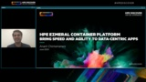 HPE Container Platform: Bring Speed and Agility to Data-Centric Apps