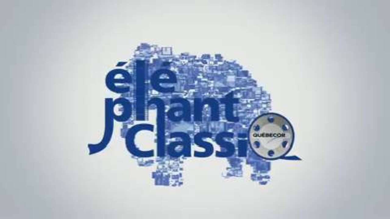 Logo animé Éléphant ClassiQ