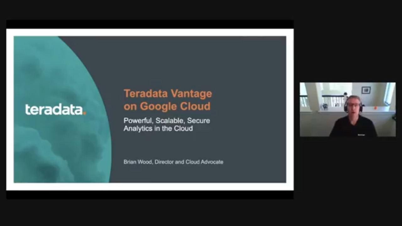 Teradata Vantage on Google Cloud