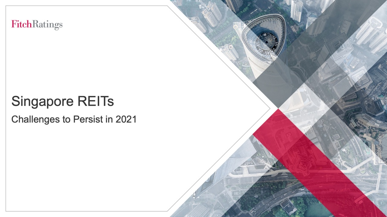 Singapore REITs – Challenges to Persist in 2021