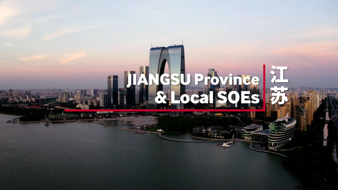China Provincial Government & SOEs Snapshot Series - Jiangsu Province and Local SOEs