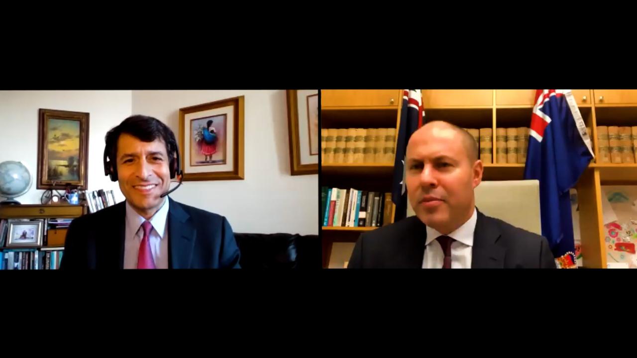 Exclusive Interview with Australian Treasurer