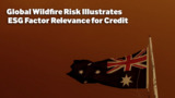 Global Wildfire Risk Illustrates ESG Factor Relevance for Credit