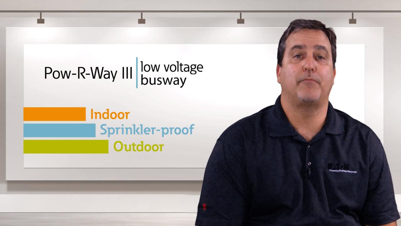 Pow-R-Way III busway | Sandwich bus | data center trak | Eaton