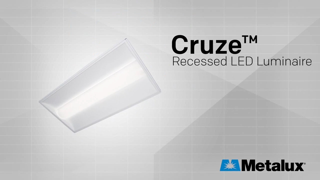 Cruze Recessed LED Luminaire