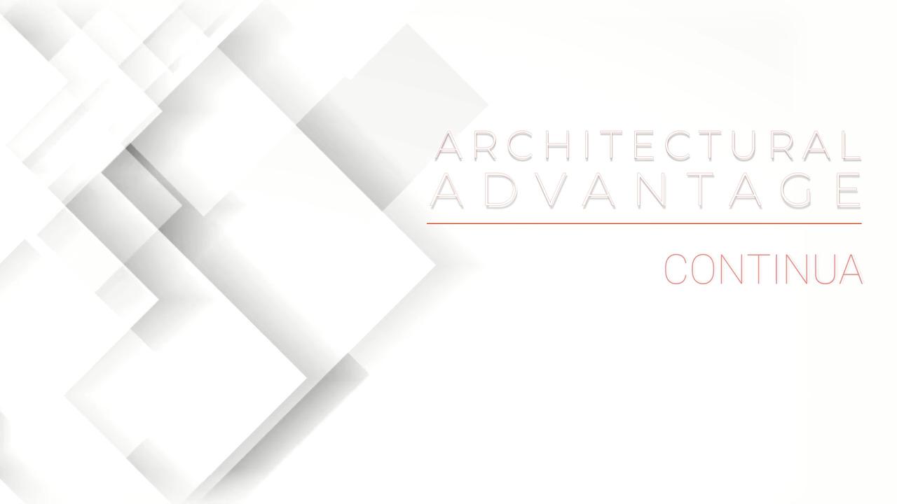 Architectural Advantage - Corelite Continua