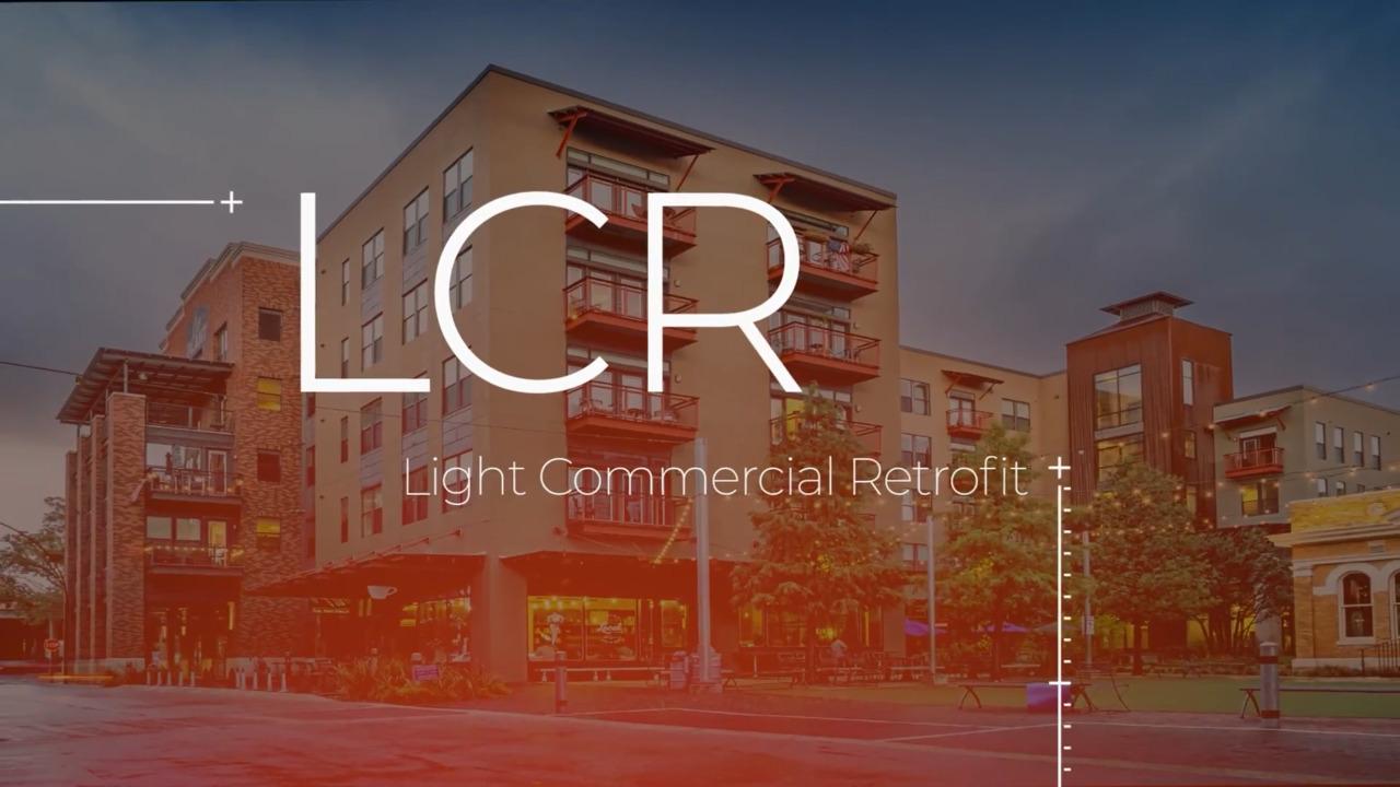 HALO Light Commercial Retrofit - LCR