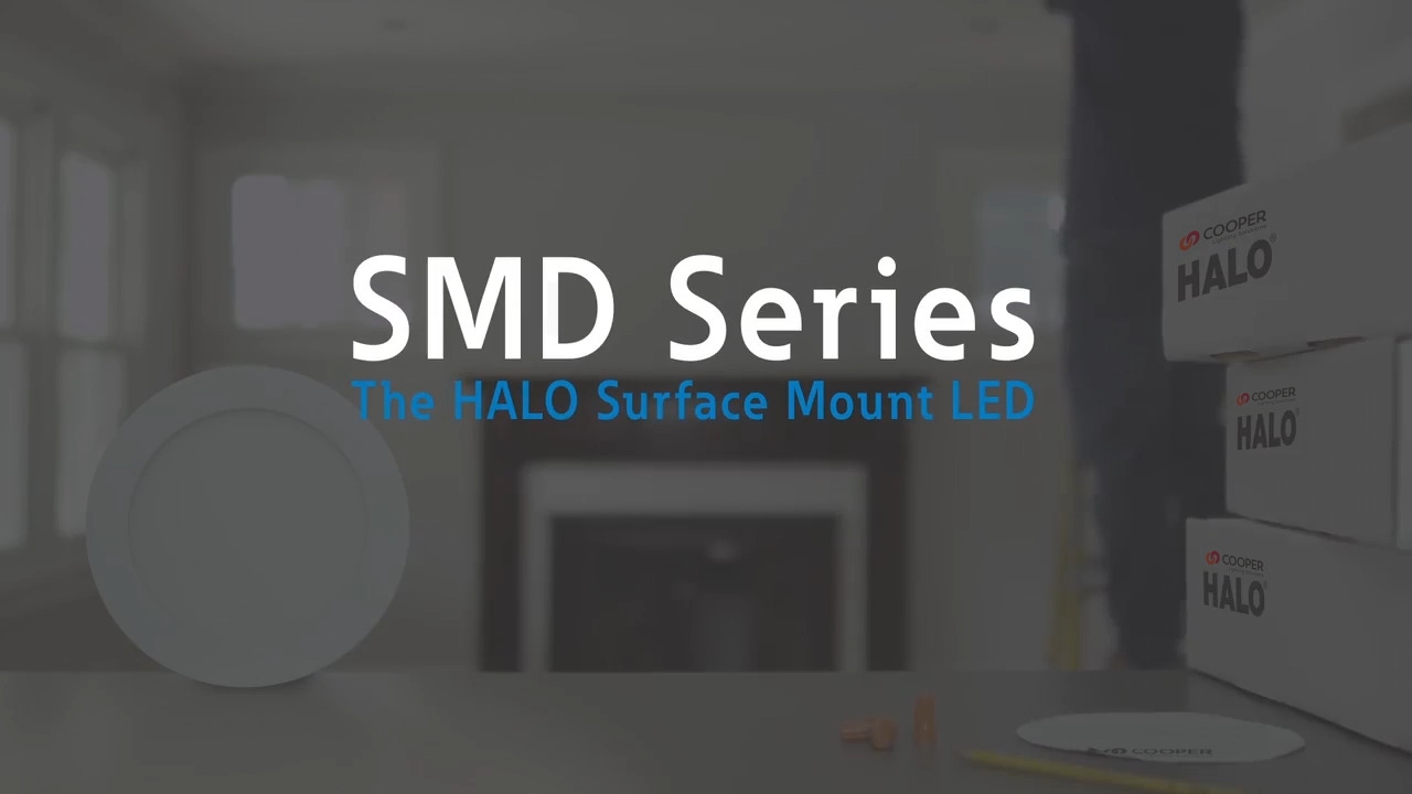 The Halo Surface Mount LED Downlight (SMD)