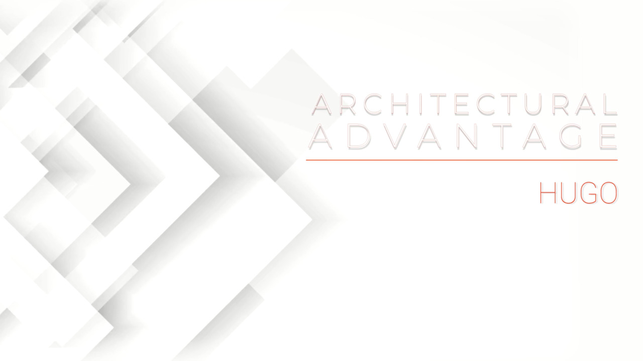 Architectural Advantage - Corelite HUGO