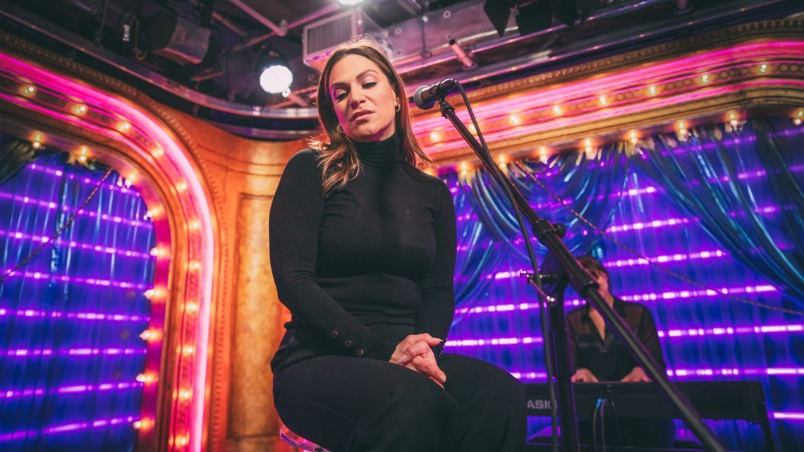 Exclusive! Watch Shoshana Bean Belt Out 'She Used to Be Mine' from Waitress