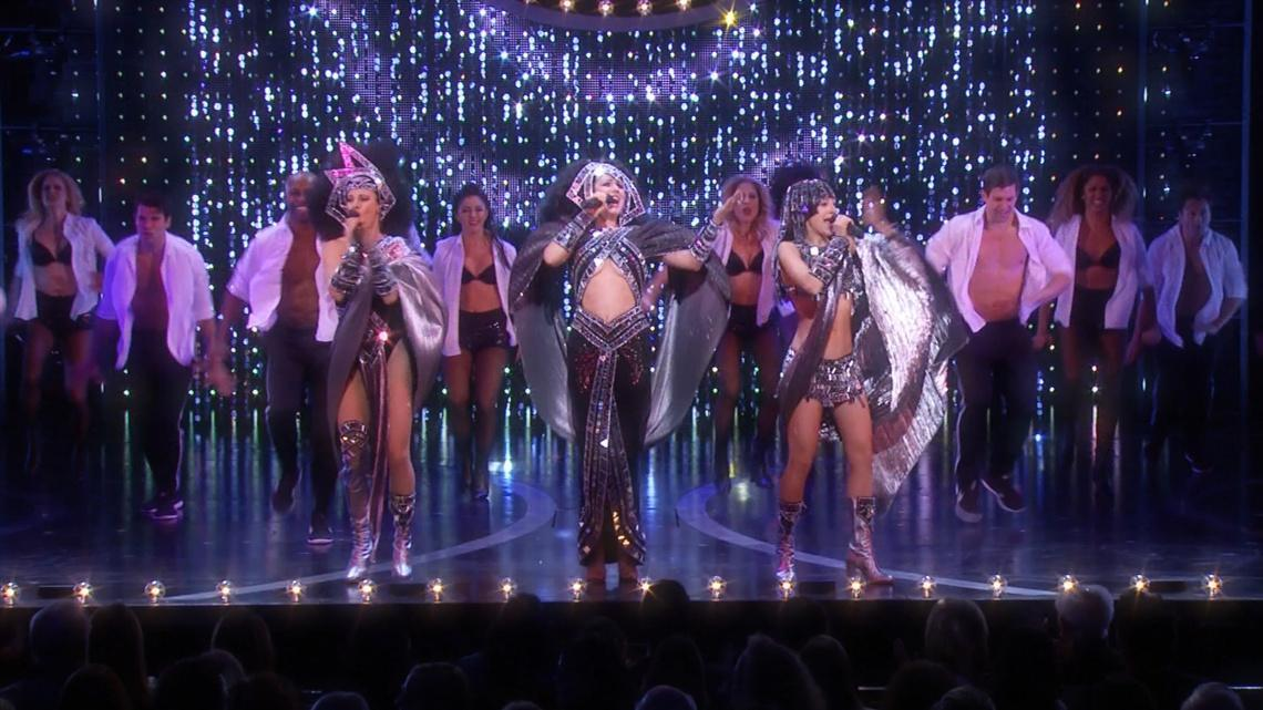 Watch Stephanie J  Block and the Cast of The Cher Show Bring Cher's Life to  Broadway