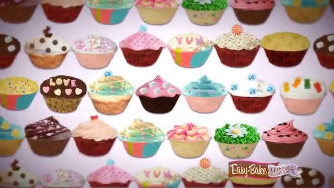 EASY-BAKE Free Cupcakes App Commercial