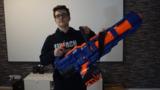 NERF Trickshot Challenge Einfach Hans