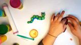 Play-Doh Knet-Tipp: Raupe und Schmetterling