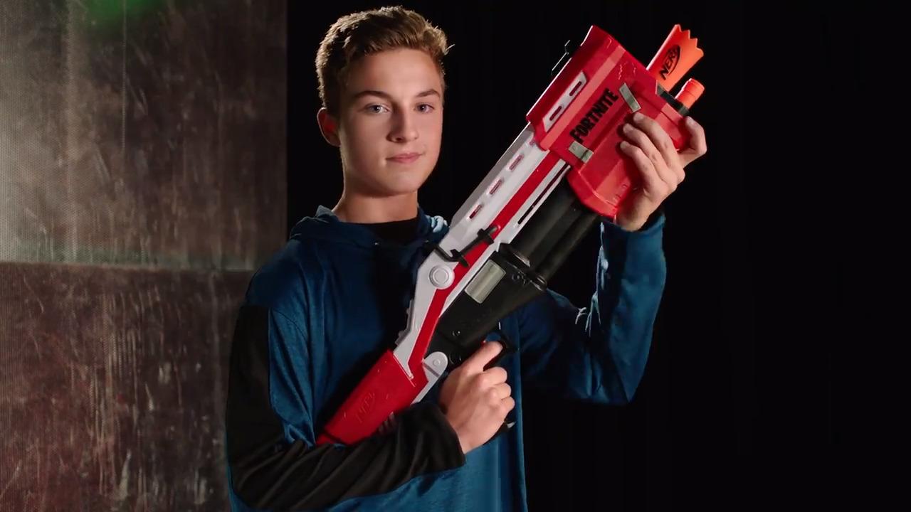 Nerf Fortnite TS-Blaster, AR-L & SP-L Blaster TV-Spot
