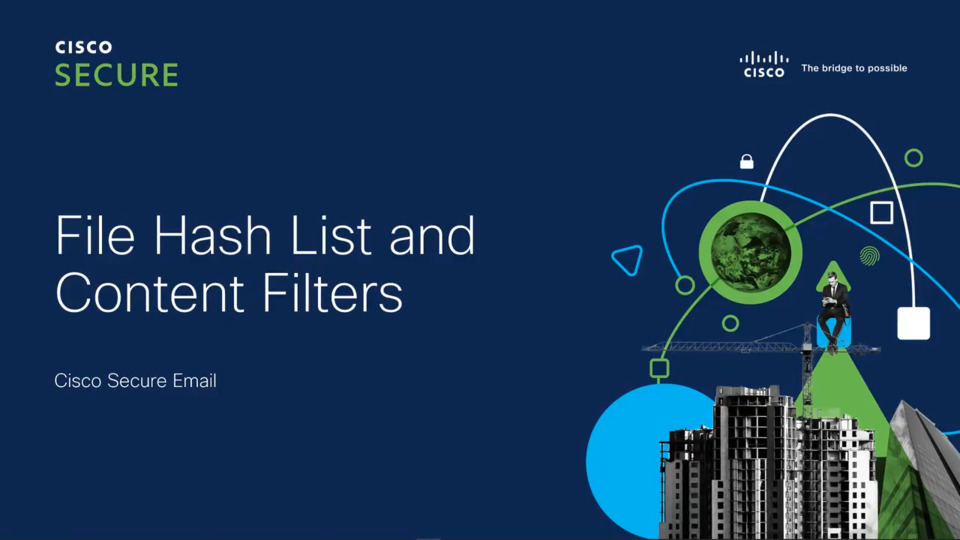 Filtering attachments based on SHA256 and MD5 values   Cisco Virtual Experience Hub