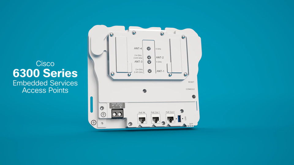 Cisco 6300 Series Embedded Services Access Points